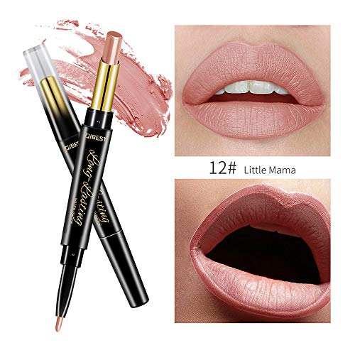 MERICAL lippenstift set Double End Dauerhafter Lipliner wasserdichter Lip Liner Stick Bleistift...
