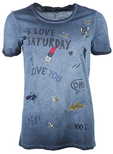 Marc Aurel Damen Shirt Blau