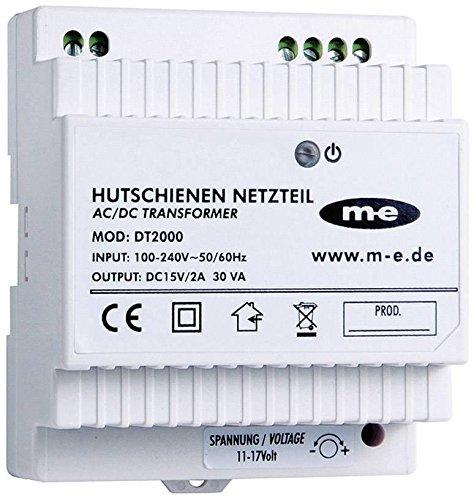 m-e dt-2000Elektronisches Netzteil zur Befestigung auf DIN-Schienen Video-netzteil