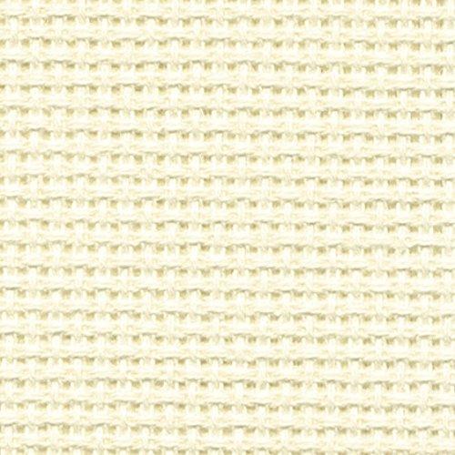 DMC Aida Stoff 14Kreuzstich Stoff Ecru Creme–Pro Pack + Gratis Minerva Crafts Craft Guide