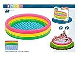 Intex Kiddie Pool - Kid's Summer Sunset Glow Design - 58' x 13' by Intex