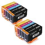 JOTO 364XL Sostituzione per HP 364XL 364 XL Cartucce d'inchiostro Alta Capacità Compatibile per DeskJet 3520 3070A OfficeJet 4620 Photosmart 5510 5514 5515 5520 (4 Nero,2 Ciano,2 Magenta,2 Giallo)