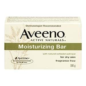 Aveeno Active Naturals Moisturizing Bar for Dry Skin 100g