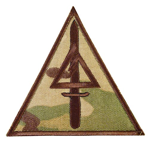 2AFTER1 Multicam Delta Force US Army Operational Detachment Delta SFODA-D SFG Cod Call of Duty Fastener Patch -