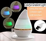 #10: Rich N Royal Aroma Cool Mist Oil Diffuser and Humidifier in 6 Different Colorful Lights