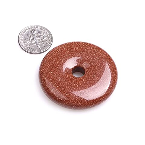 Natural Ring Circle Donuts Beads for Jewellery Making 1 Piece