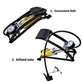 #3: GosFrid Portable High Pressure Foot Air Pump Heavy Compressor Using for Bike,Car,Cycles,& All Other Vehicles