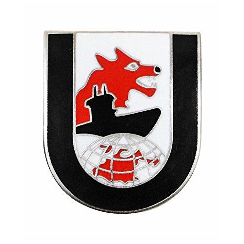 Deutsche 2. Weltkrieg 12. Flottille U-Boot Gap Pin Badge-Wolf (Ww2 Deutsch Hat)