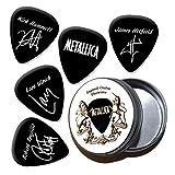 Metallica Black Chitarra plettro con Tin(HB)