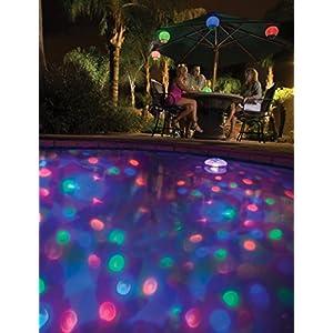MemoryStar spettacolo di luci subacqueo con 4 LED - Taglio automatico - illuminazione subacquea Luce in piscina illuminazione subacquea Pool illuminazione - marchio tedesco