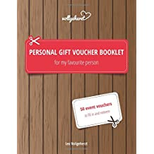 Personal gift voucher booklet for my favourite person: 50 event vouchers to fill in and redeem
