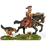 Mounted Roman General & Dog Miniatures by Warlord Games