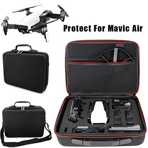 HKFV Koffer for DJI Spark Waterproof Hardshell Portable Handbag Storage Bag DJI MAVIC Air Umhängetasche tragbaren Aufbewahrungsbox Messenger Bag Rucksack