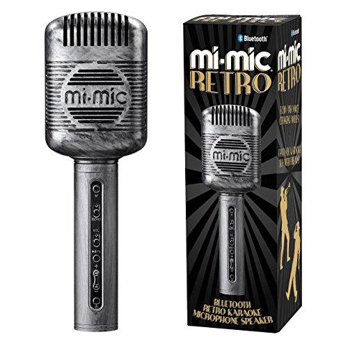 e-Mikrofon, Lautsprecher mit kabellosem Bluetooth und LED-Lichtern ()