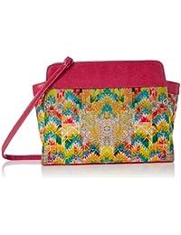 Kanvas Katha Women's Sling Bag (Multi)(KKBT008)