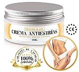 Crema antiestrias embarazo - Crema antiestrias - Crema reafirmante corporal - Reductor cicatrices embarazo - Oliver & Jay