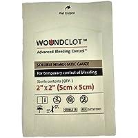 """WoundClot Lösliche Hämostatische Gaze – Fortgeschrittene Kontrolle von Blutungen (2"""" X 2"""" (5cm X 5cm)) preisvergleich bei billige-tabletten.eu"""