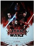 STAR WARS LES DERNIERS JEDI Affiche Cinéma Originale Petit format (53 x 40, Pliée) STAR WARS 8