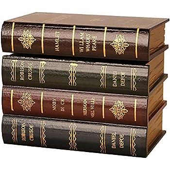 Golden Y Coffre Fort Avec Serrure Serre Livres De Type Livre Ancien En Bois Avec Boite De Rangement Cache Se Termine Dans Une Bibliotheque Decorative