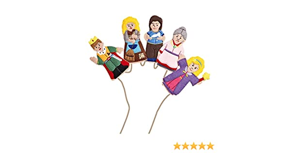 Set marionette dita Cenerentola: Amazon.it: Giochi e giocattoli
