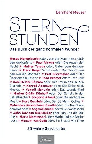 Buchseite und Rezensionen zu 'Sternstunden: Das Buch der ganz normalen Wunder' von Bernhard Meuser