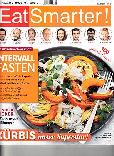 Eat Smarter 5 2018 Intervall Fasten Zeitschrift Magazin Einzelheft Heft Moderne Ernährung