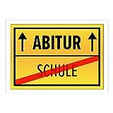 Große XXL Glückwunsch-Karte mit Umschlag zum Abi/DIN A4/ABITUR/Feier/Glückwunsch