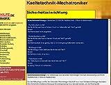 Wörterbuch für den Mechatroniker/-Kältetechnik: von Markus Wagner