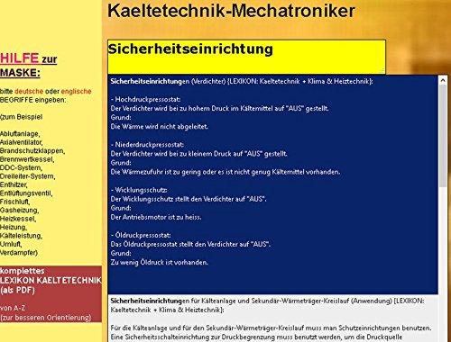 Wörterbuch für den Mechatroniker/-Kältetechnik: Deutsch-Englisch /Englisch-Deutsch