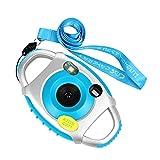 Funkprofi Digital Kamera Kinder Camera Camcorder Kid Cam 5 Megapixel 1,44 Zoll Display Geschenk und Spielzeug für Kinder (Blau)