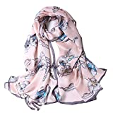 GFM sciarpa triangolare alla moda con pizzo e nappe,/ottima idea regalo