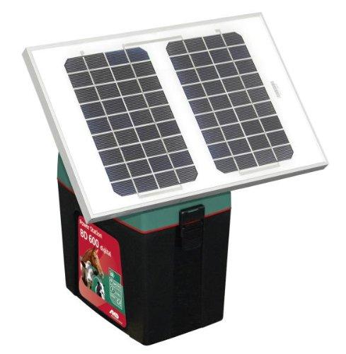 Solarmodulkit 8W incl. Halter + 12 Volt, 12AH Gel-Batterie