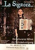 La Signora - Herne 2012 - Veranstaltungs-Poster A2