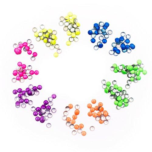 Bunte Strass Acryl Steine Strassteine Nageldesign Fingernägel 2 mm 6 Farben ()