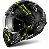 Casco Modulare Airoh J106 Crude - Green Matt / Yellow Matt (S, Yellow