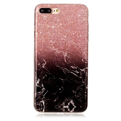 Ecoway Funda para Apple iPhone 7/7G (4,7 zoll),TPU case Antideslizante Suave Parachoques Resistente a los arañazos Contraportada Funda de silicona Parachoques Carcasa Funda Bumper - Pattern 1