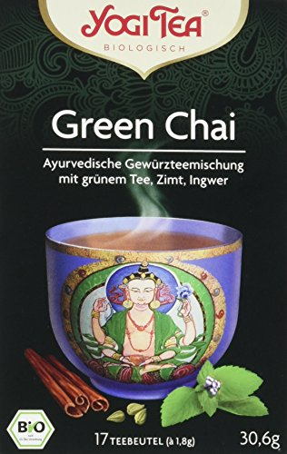 Yogi Tea Green Chai Bio, 3er Pack (3 x 31 g)