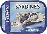 CASINO Sardines au Naturel