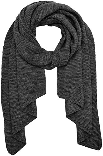VERO MODA Damen Schal Vmmisty Long Scarf, Grau (Dark Grey Melange), One Size