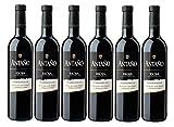 Antaño Tempranillo D.O Rioja. Vino Tinto - 6 Botellas x 750 ml - Total: 4500mL
