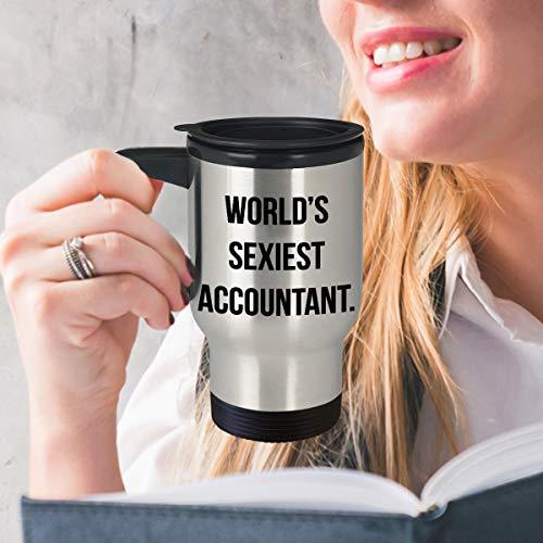 Zachrtroo lustigen Buchhalterreisebechers für Buchhalter finanzieren sexy Geschenk der Manager für Auszubildende Steuerberater-CPA-Finanzanalytikertrommel