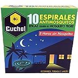 Cuchol P221 - Espirales antimosquitos, 10 unidades, color verde