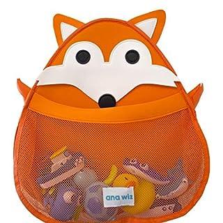 Ana Wiz™ Animal Bath Tidy Storage for Toys – Various Designs (Orange Fox)