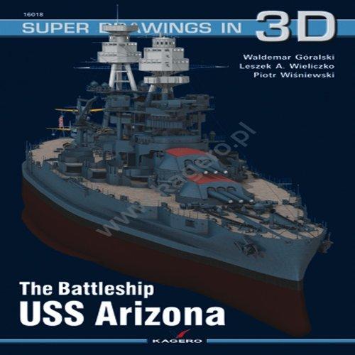 The Battleship USS Arizona (Super Drawings in 3D) por Waldemar Goralski