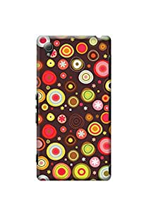 Sony Xperia Z3 Back Case Kanvas Cases Premium Quality Designer 3D Printed Lightweight Slim Matte Finish Hard Cover for Sony Xperia Z3