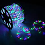 High Quality Waterproof LED Rope Light With Adapter For Decoration - 50 - Meters - RGB(Multi Color) (Phoenix Light)