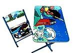 Disney The Smurfs Kids Wooden Foldable S...