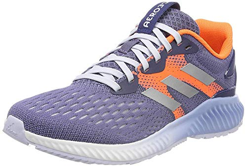 adidas Damen Aerobounce Traillaufschuhe Blau (Indnat/Plamet/Naalre 000) 42 2/3 EU