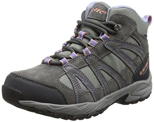 Hi-Tec Alto Ii, Chaussures de Randonnée Hautes Femme Gris (Steel/Charcoal/Lustre 052)