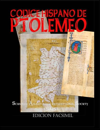 Codice Hispano de Ptolemeo: Claudii Ptolomaei Alexandrini Cosmographia Iacobvs Angelvs interprete (1401-1500) por Claudius Ptolemaeus